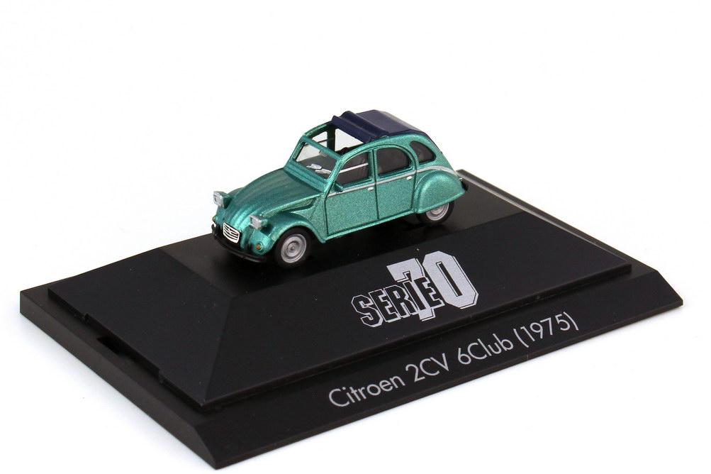 1:87 Citroen 2CV 6Club grün-met. (Serie 70)