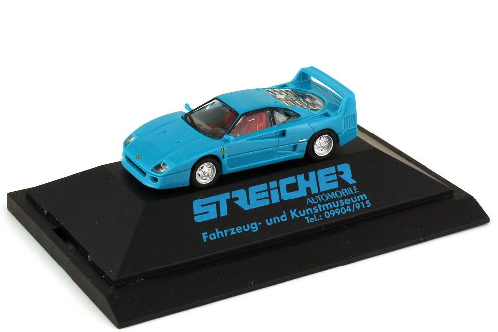 1:87 Ferrari F40 türkis