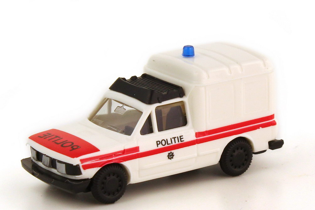 1:87 Fiat Fiorino Politie (Polizei NL) weiß/rot