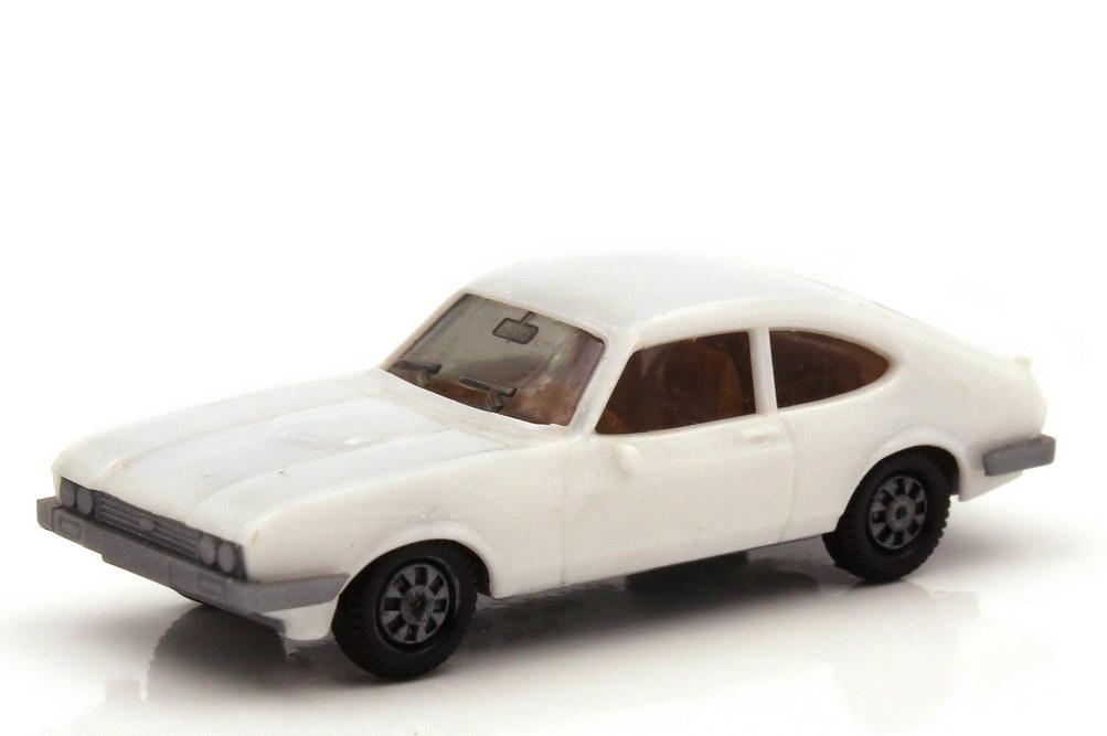 1:87 Ford Capri Mk III 3.0 Ghia weiß, Bodenplatte grau (oV)