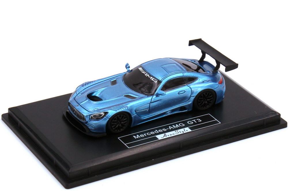 1:87 Mercedes-AMG GT3 (C190) blau-met.