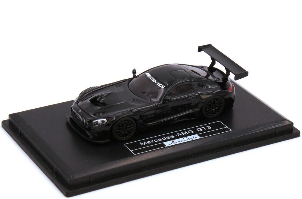 1:87 Mercedes-AMG GT3 (C190) schwarz