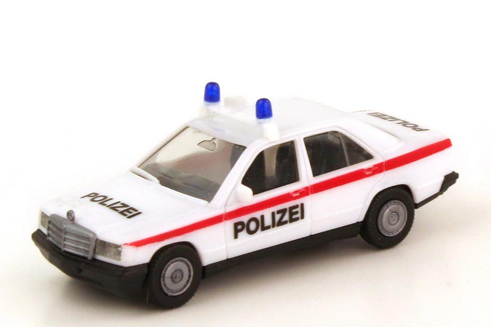 1:87 Mercedes-Benz 190E (W201) Polizei Österreich