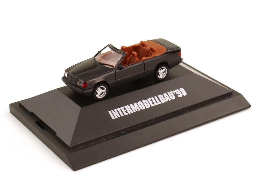 1:87 Mercedes-Benz 300CE 3.6-24 Cabriolet Brabus schwarz