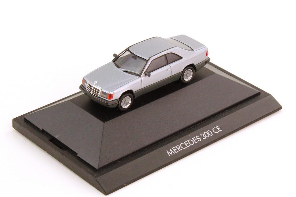 1:87 Mercedes-Benz 300CE (C124) silber-met.