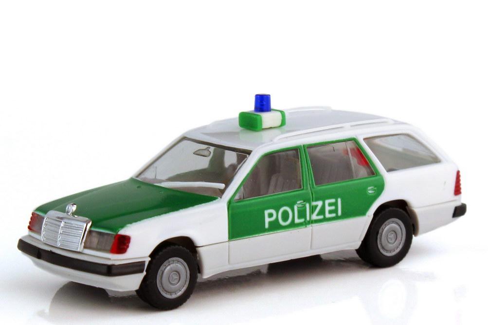 1:87 Mercedes-Benz 300TE Facelift (S124 MOPF) Polizei weiß/grün