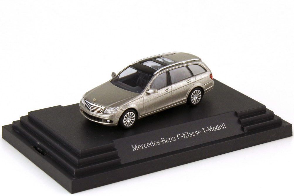 1:87 Mercedes-Benz C-Klasse T-Modell Elegance (S204) cubanitsilber-met. (MB)
