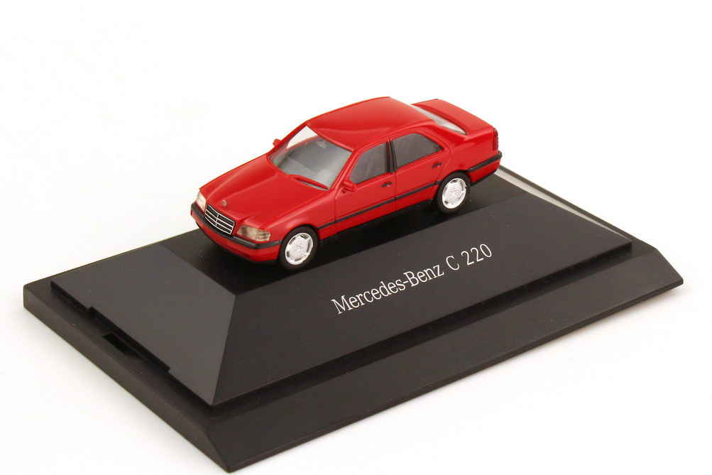 1:87 Mercedes-Benz C-Klasse (W202) C 220 imperialrot (MB)