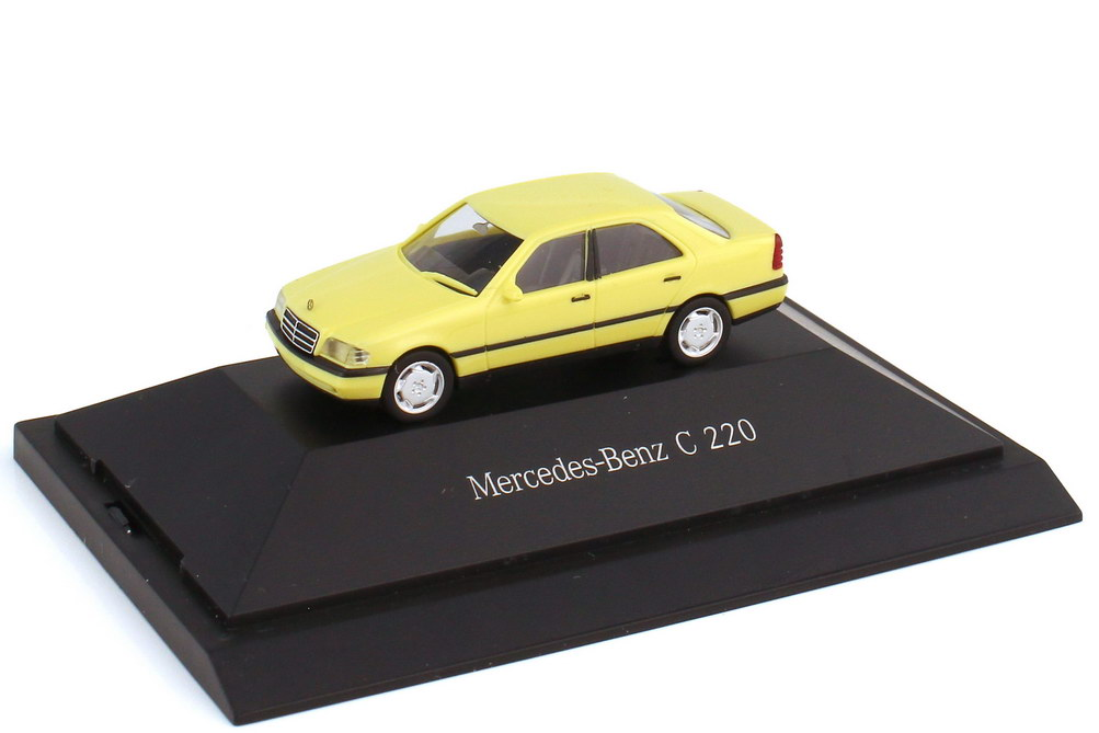 1:87 Mercedes-Benz C-Klasse C 220 (W202) lichtgelb (MB)
