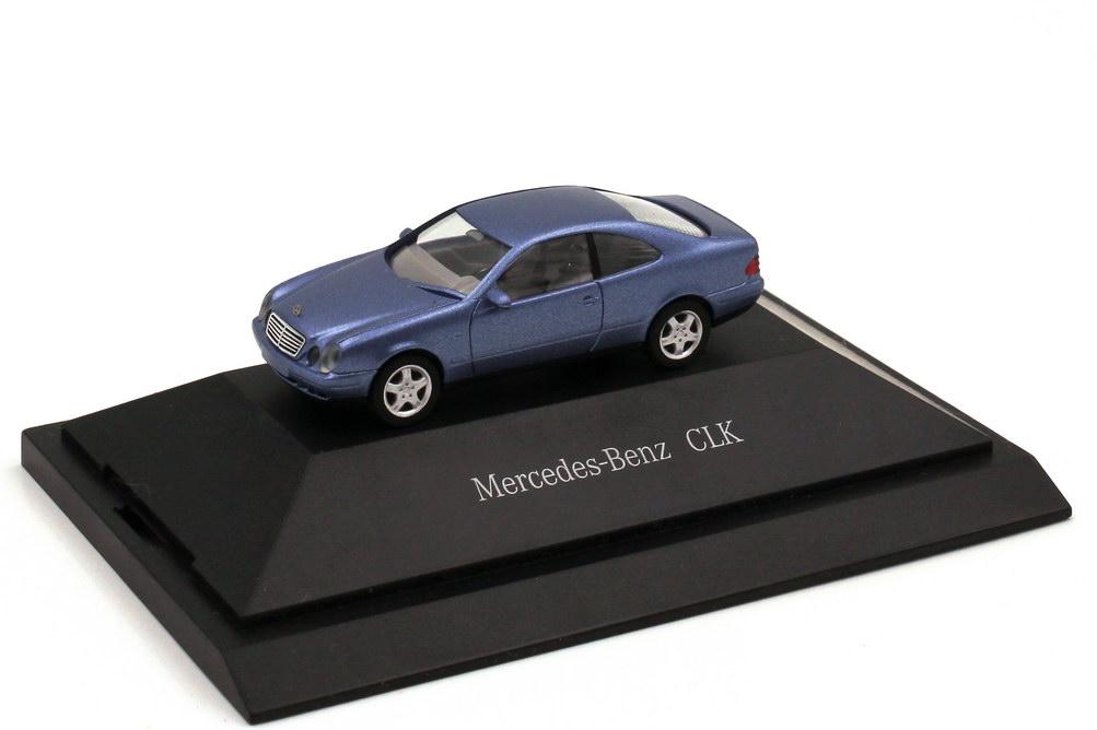 1:87 Mercedes-Benz CLK (C208) quarzblau-met. (MB)