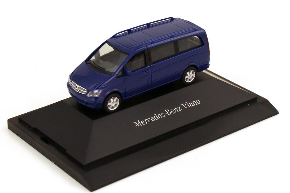 1:87 Mercedes-Benz Viano (W639 MOPF) Facelift 2010 atlantisblau (MB)