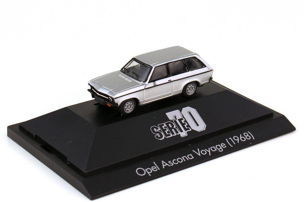 1:87 Opel Ascona A Voyage silber-met. (Serie 70)