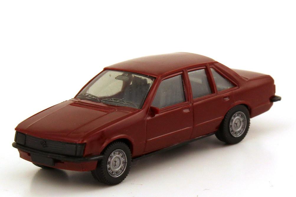 1:87 Opel Rekord E dunkelweinrot, Räder 2-teilig