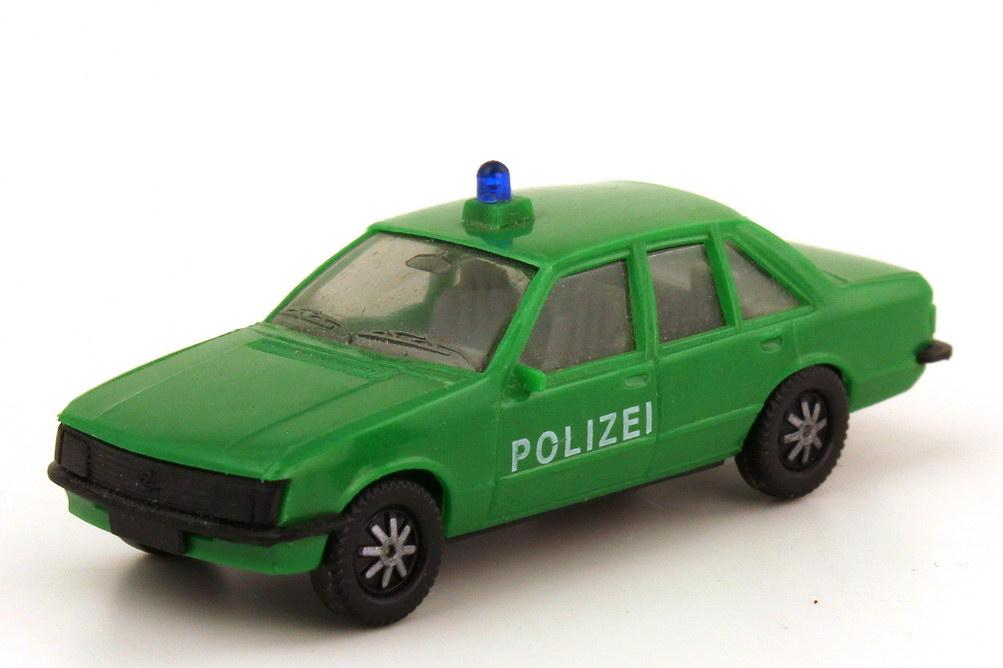 1:87 Opel Rekord E Polizei grün, IA grau (oV)