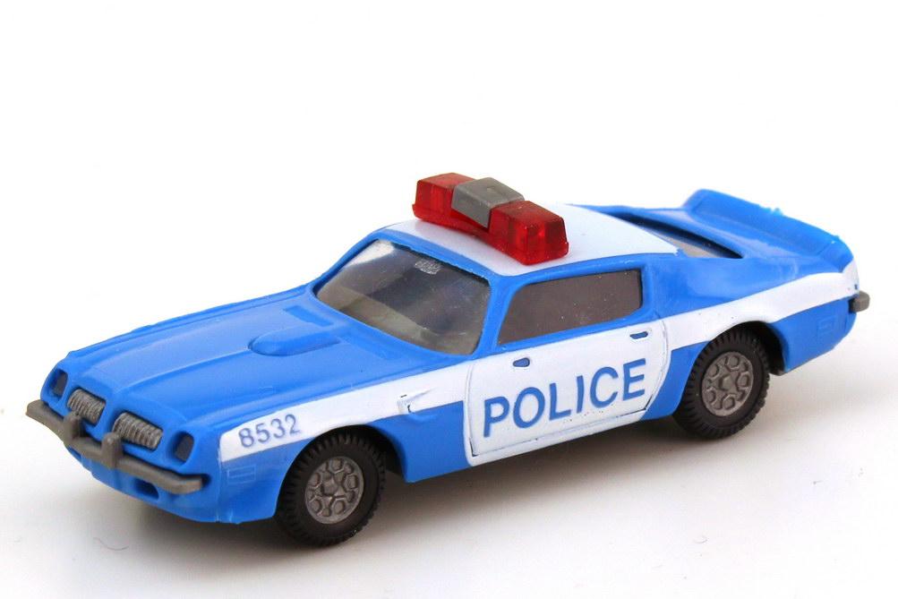 1:87 Pontiac Firebird 1973 US Police 8532 blau/weiß, 2. Druckvariante