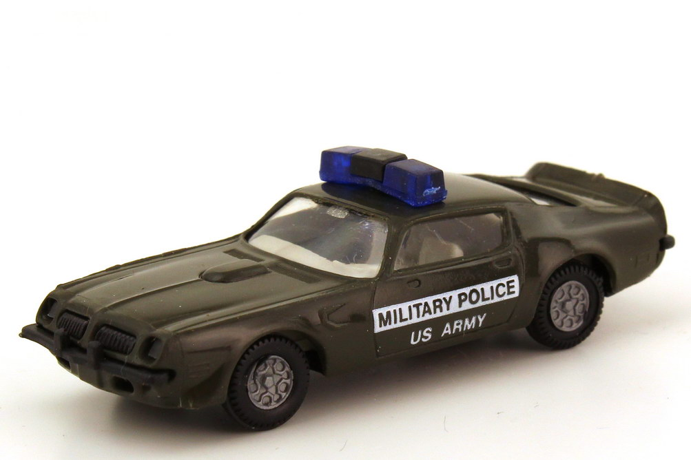 1:87 Pontiac Firebird 1973 US Army Military Police
