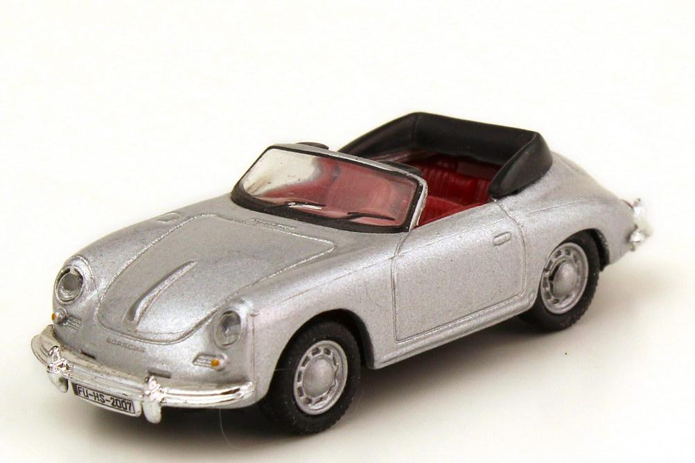 1:87 Porsche 356 Cabrio silber-met. (oV)