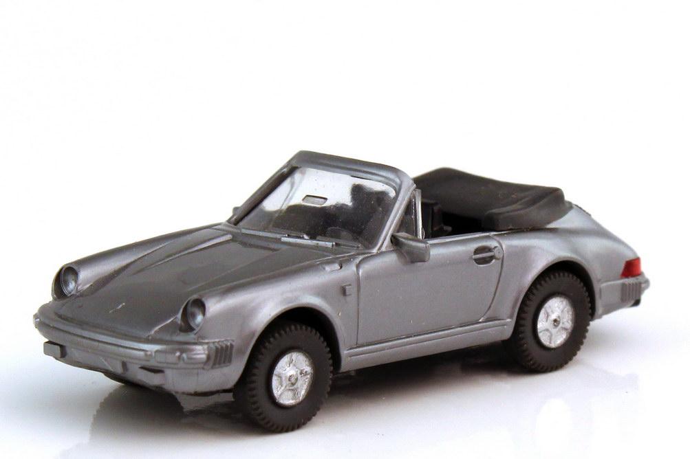 1:87 Porsche 911 Cabrio (G-Modell) grau-met. (oV)