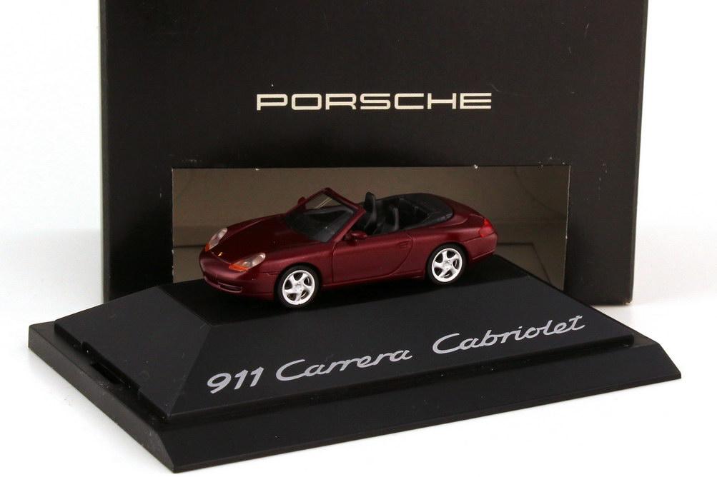 1:87 Porsche 911 Carrera Cabriolet (996) arenarot-met. (Porsche)