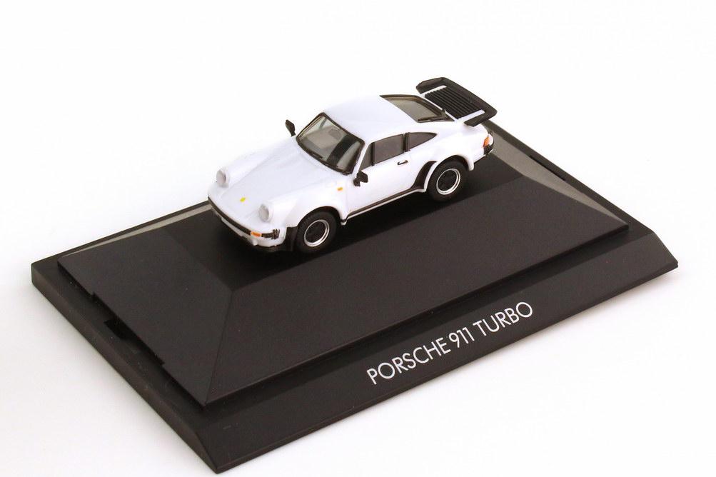 1:87 Porsche 911 turbo (Typ 930) weiß (oU)