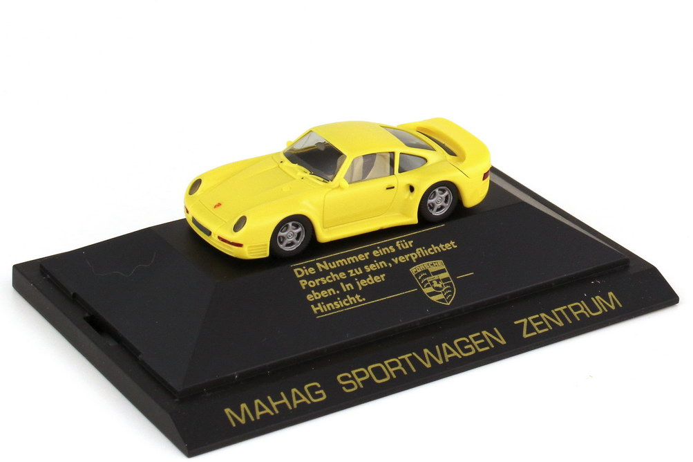 1:87 Porsche 959 gelb