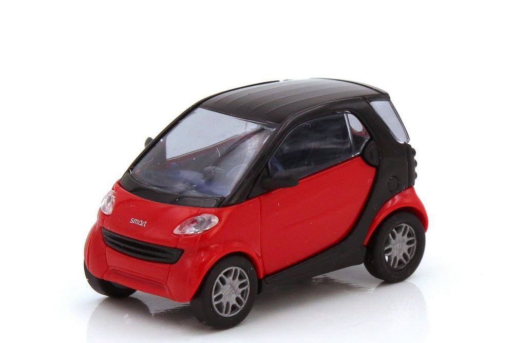 1:87 Smart City-Coupé (C450) mad-red/schwarz