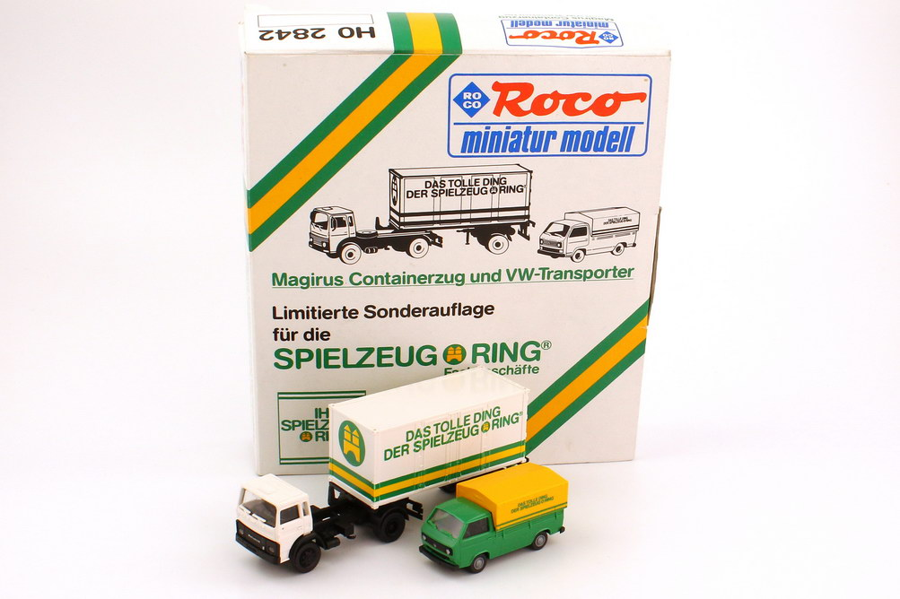 1:87 Spielzeugring Set-Packung (Magirus M 20