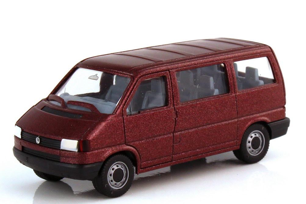 1:87 VW T4 Caravelle bordeaux-met.