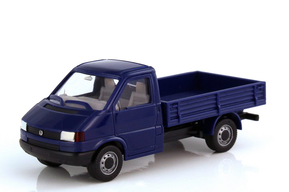 1:87 VW T4 Pritsche dunkelblau