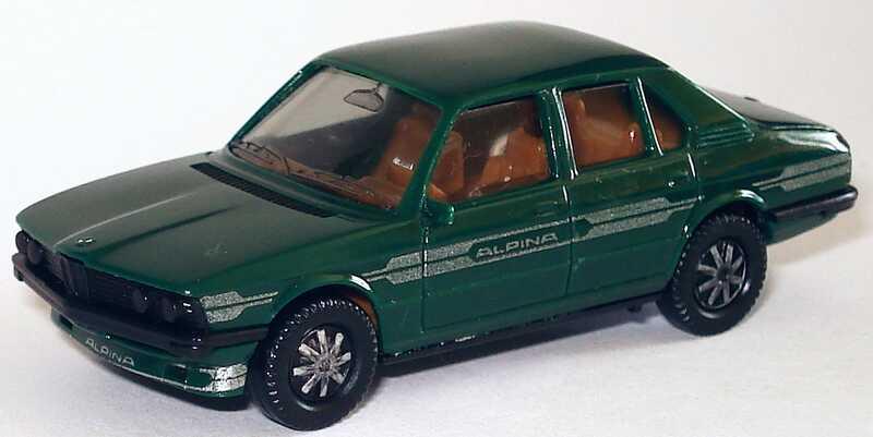 1 87 alpina b7 turbo bmw 5er e12 kieferngr n gr n green. Black Bedroom Furniture Sets. Home Design Ideas