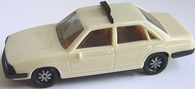 1:87 Audi 100 GL 5E (C2) Taxi hellelfenbein (oV)