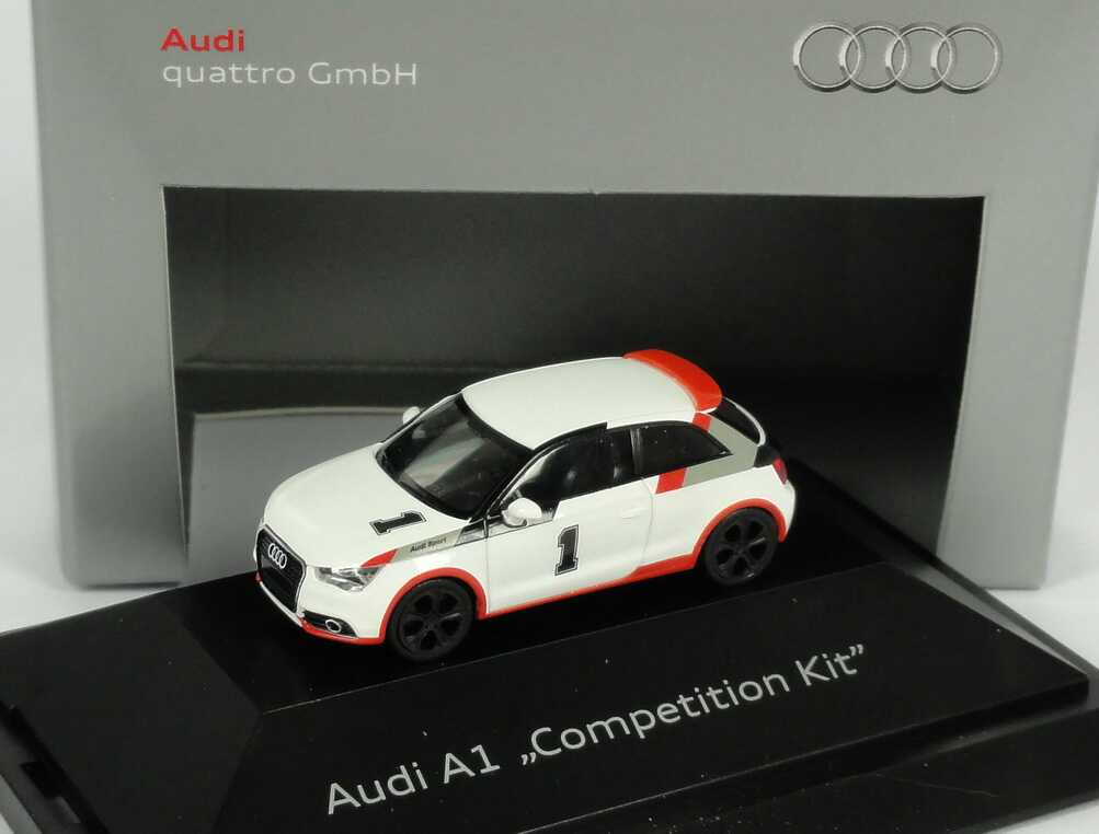 Foto 1:87 Audi A1 8X Studie Competition Kit - Werbemodell - herpa 5051001022