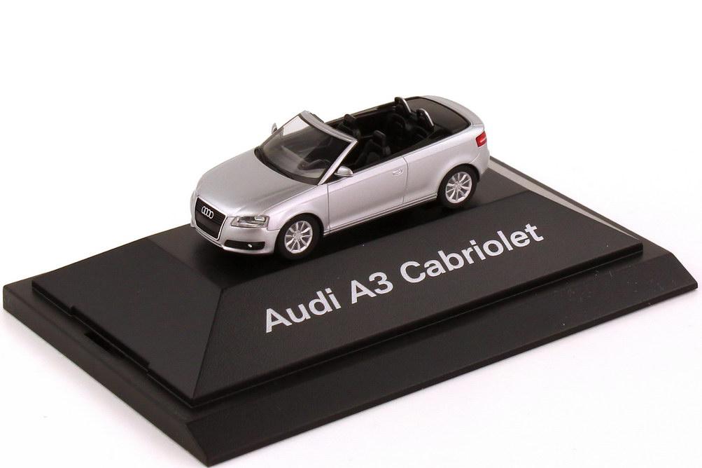 1:87 Audi A3 Cabrio eissilber-met. (Audi)