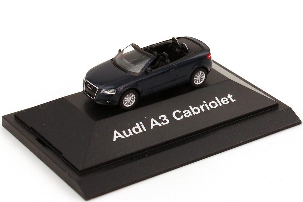 1:87 Audi A3 Cabrio tiefseeblau-met. (Audi)