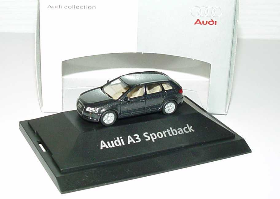 1:87 Audi A3 Sportback (8PA) lavagrau-met. (Audi)