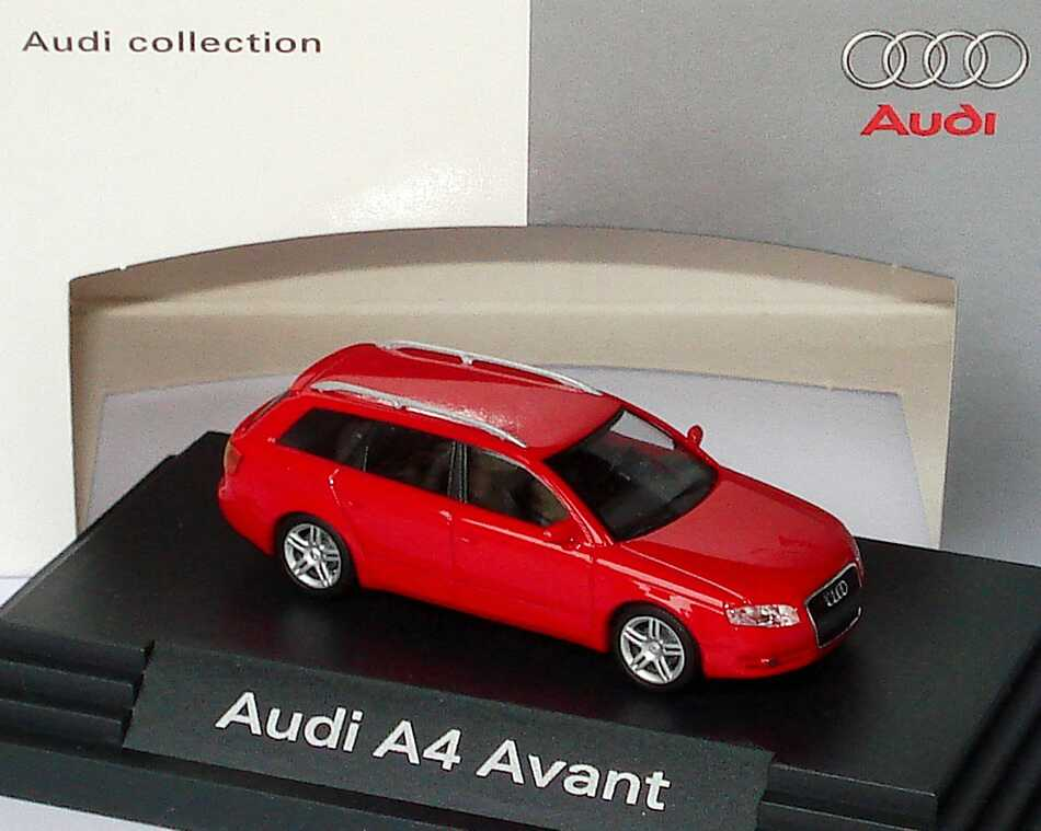 1:87 Audi A4 Avant (Facelift 2004) brillantrot (Audi)