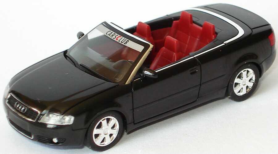 1:87 Audi A4 Cabrio 3.0 (B6) schwarz