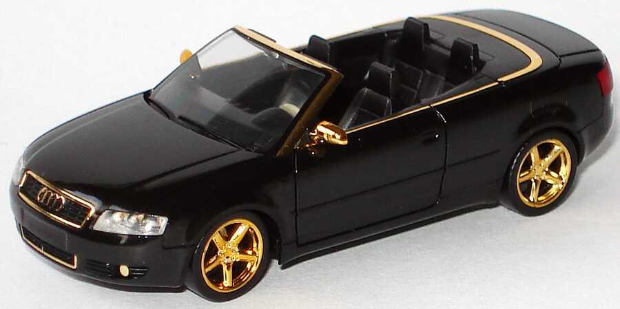 1 87 Audi A4 Cabrio 3 0 Schwarz Gold Herpa