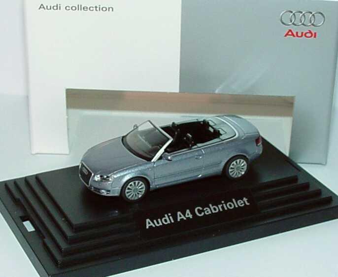 1:87 Audi A4 Cabrio 3.2 quattro (B7) 2005 akoyasilber-met. (Audi)