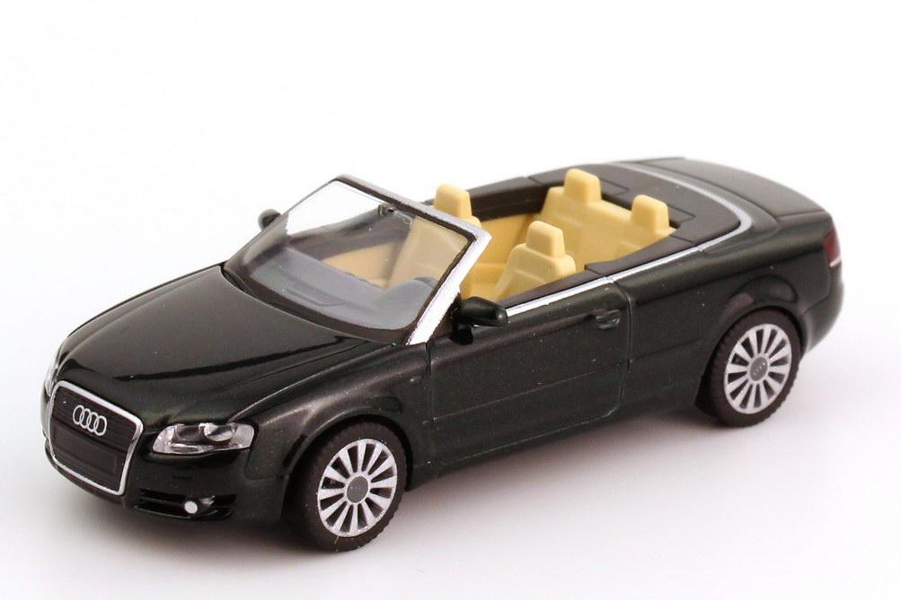 1:87 Audi A4 Cabrio (B6) Facelift 2005 tiefgrün-perleffect