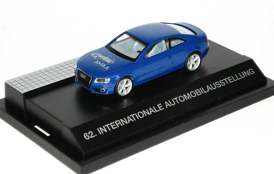 "1:87 Audi A5 Coupé blau ""IAA - Sehen, was mogen bewegt, 62. International Automobilausstellung"""