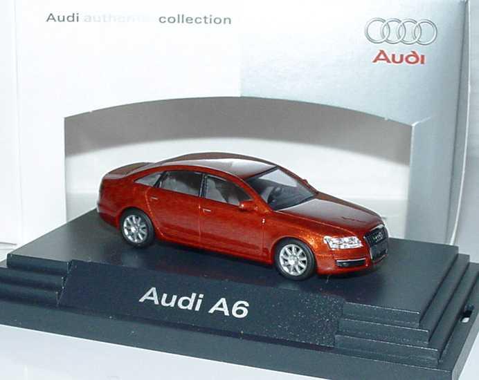 1:87 Audi A6 (C6) canyonrotmet. (Audi)