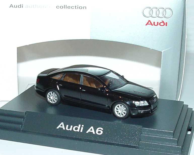 1:87 Audi A6 (C6) ebonyschwarzmet. (Audi)