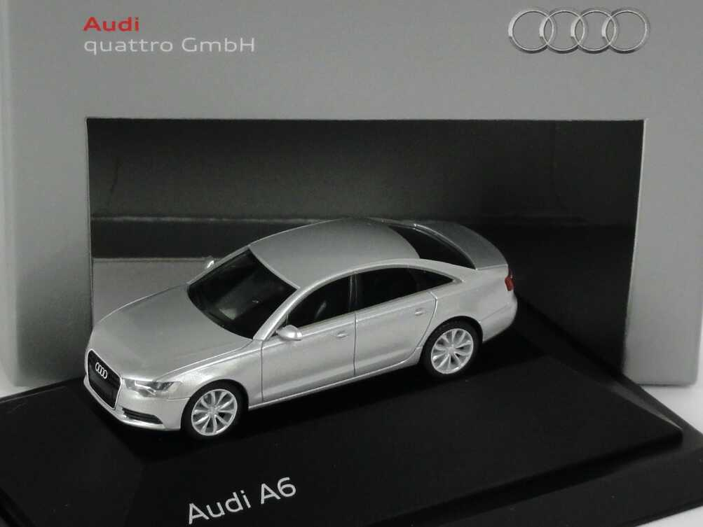 1:87 Audi A6 (C7) eissilber-met. (Audi)