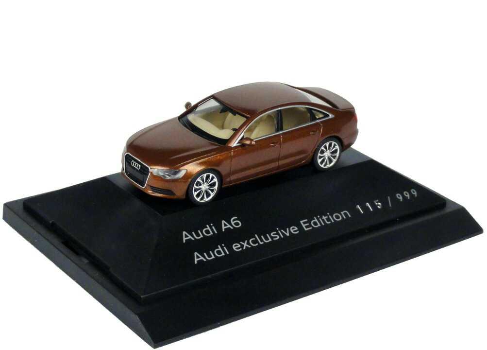 1:87 Audi A6 (C7) ipanema-braun-met.