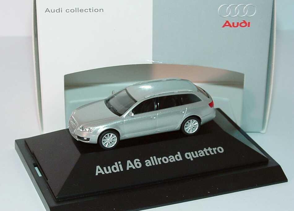 1:87 Audi A6 allroad quattro 2006 lichtsilbermet. (Audi)
