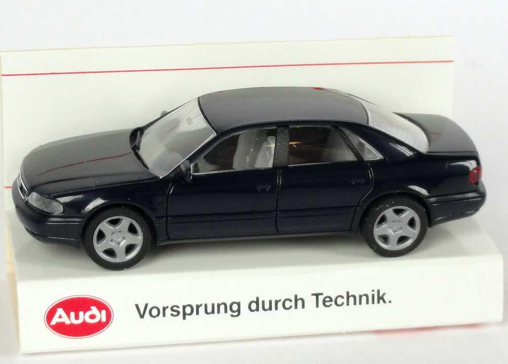 1 87 Audi A8 D2 Dunkelblau Werbemodell