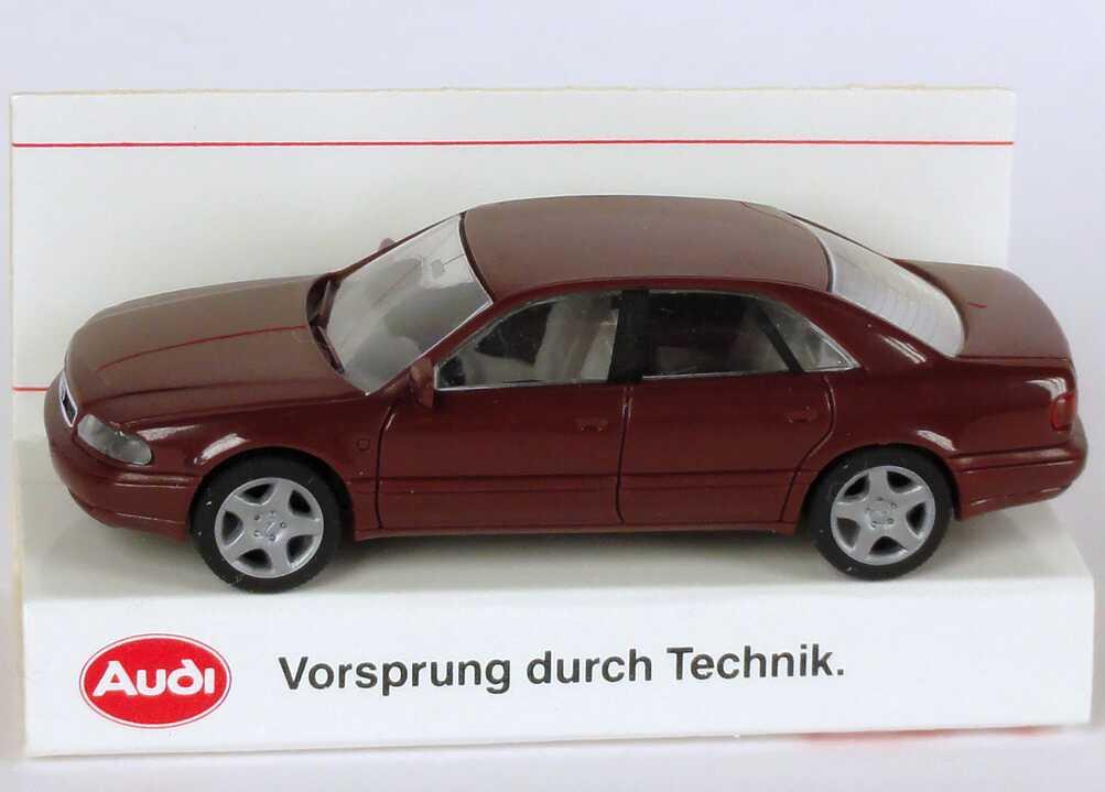 1:87 Audi A8 (D2) dunkelweinrot (Audi)