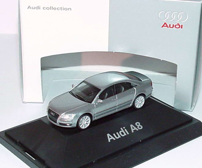 1:87 Audi A8 Facelift 2005 quarzgraumet. (Audi)