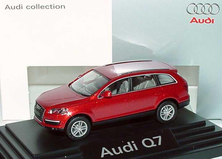 1:87 Audi Q7 4.7 FSI quattro granatrot-met. (Audi)